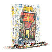 Batman Comic Cover Jigsaw Puzzle (500 Pieces) Thumbnail 1