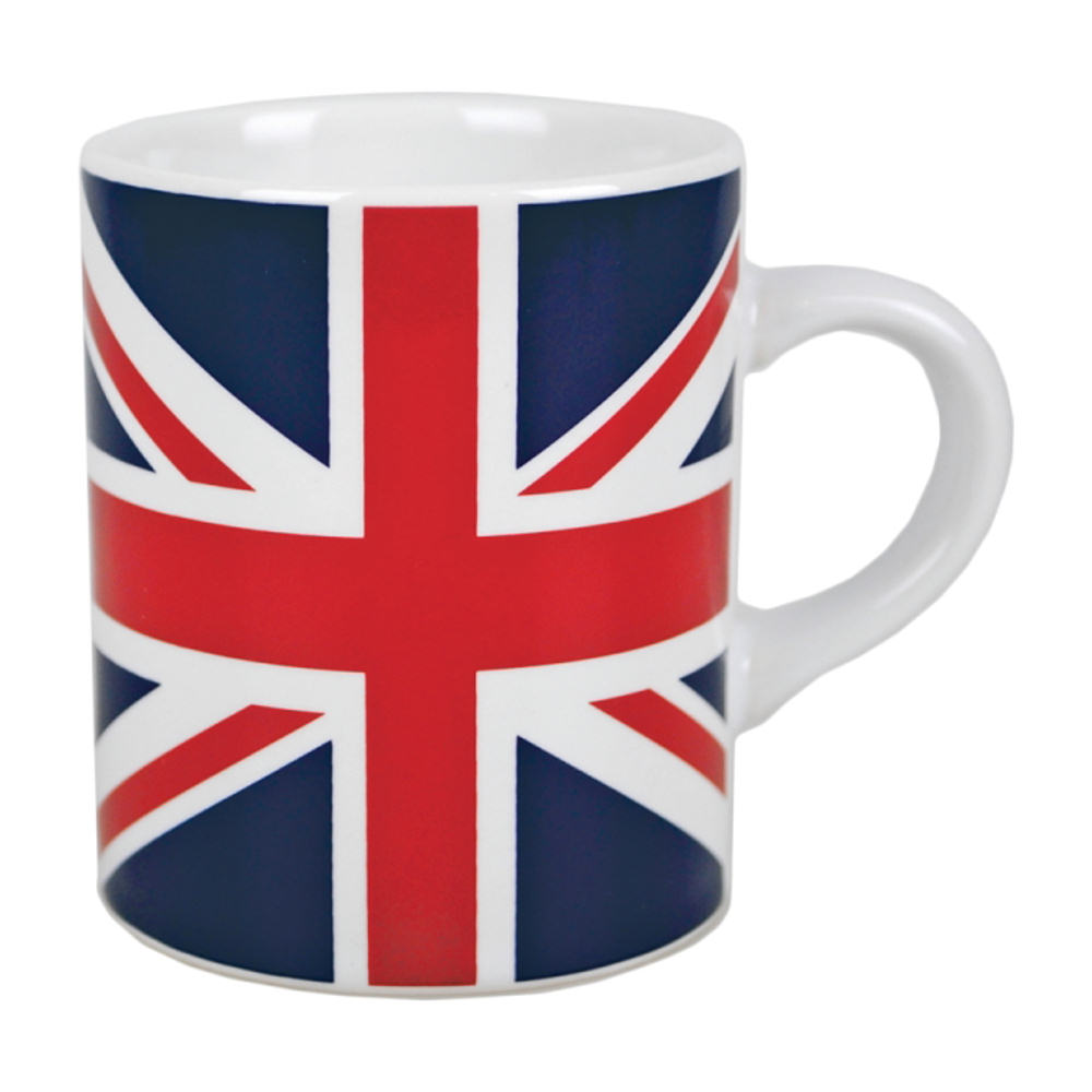 Union Jack Flag Mini Espresso Mug