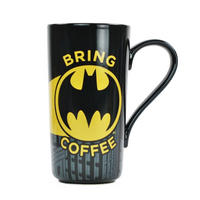Batman Bring Coffee Latte Mug Thumbnail 1