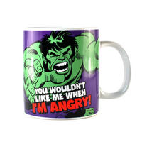 "Hulk ""You Wouldn't LIke Me When I'm Angry"" Giant Mug"