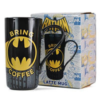 Batman Bring Coffee Latte Mug Thumbnail 2