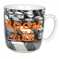 "VW Camper Van ""Room With A View"" Mug"