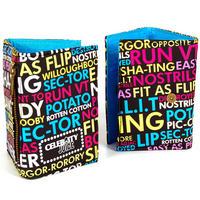 Celebrity Juice Tri-Fold Slogans Wallet