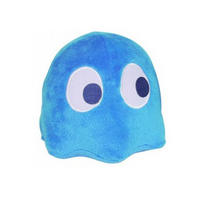 "4"" Blue Pac Man Ghost Plushy With Authentic Arcade Sounds"