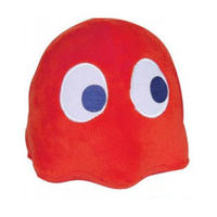 """4"""" Red Pac Man Ghost Plushy With Authentic Arcade Sounds"""