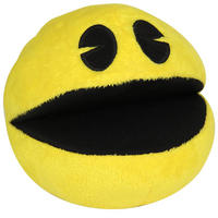 "4"" Pac Man Plushy With Authentic Arcade Sounds"