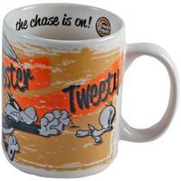 Granny, Sylvester, & Tweety Chase Mug