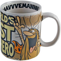 Captain Caveman The World's First Superhero Mug