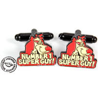 Hong Kong Phooey No 1 Super Guy Cufflinks