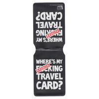 Where's My F*cking Travel Card Travel/Oyster Card Holder