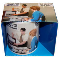 Have You Tried Turning It Off And On Again? Have You Tried Shoving It Up Your Arse? Boxed Mug