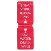 Save Water Drink Wine Travel/Oyster Card Holder