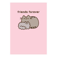 Pusheen Friends Forever Greeting Card