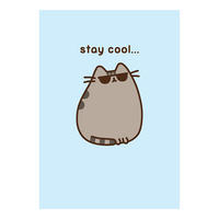 Pusheen Stay Cool Greeting Card