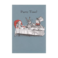 "Alice in Wonderland ""Party Time!"" Greeting Card"