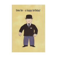 "Mr Benn ""Time For - a Happy Birthday!"" Greeting Card"