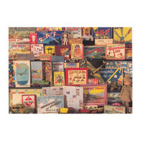 1940s Toy Box Postcard