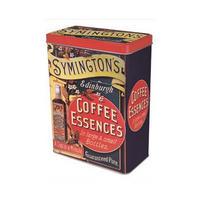 Symington's Coffee Essences Hinged Lid Tin Canister