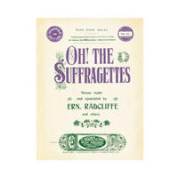 Oh! The Suffragettes Sheet Music Postcard