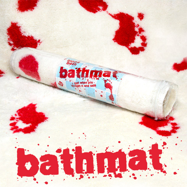 New Blood Bath Bathroom Mat Non Slip Washable Shower Novelty Gift Horror Rug