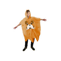 Boxer Dog Waterproof Poncho