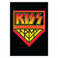 KISS Army Postcard