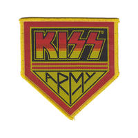 KISS Army Pennant Sew On Patch