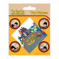 Beatles Yellow Submarine Set of 5 Vinyl Stickers Thumbnail 1