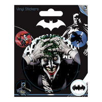 The Joker Set of 5 Vinyl Stickers