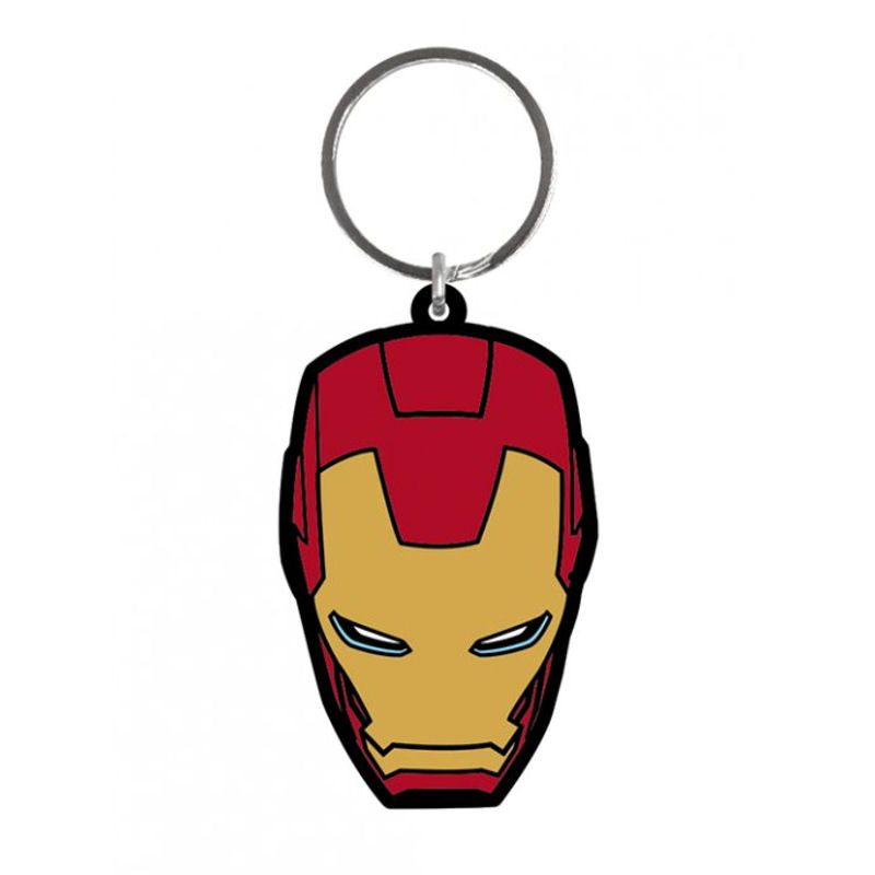 Iron Man (Age of Ultron Face) Rubber Keyring