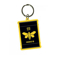 Breaking Bad Golden Moth Barrel PVC Keyring