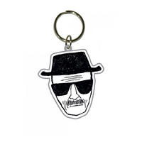 Breaking Bad Heisenberg Sketch PVC Keyring