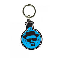 Breaking Bad Blue Flask PVC Keyring Thumbnail 1