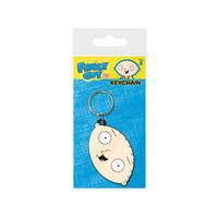Family Guy Stewie Face PVC Keyring
