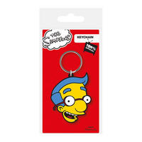 The Simpsons Milhouse Face PVC Keyring