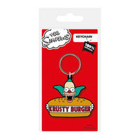 The Simpsons Krusty Burger PVC Keyring