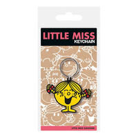 Little Miss Sunshine PVC Keyring