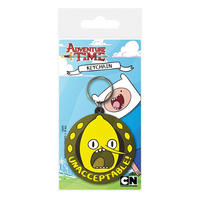 Adventure Time Lemongrab Unnacceptable PVC Keyring