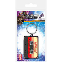 Guardians Of The Galaxy Awesome Mix Vol. 1 Rubber Keyring