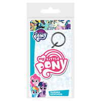My Little Pony Logo PVC Keyring