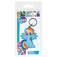 My Little Pony Rainbow Dash PVC Keyring