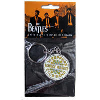 The Beatles Sgt Pepper Drum Metal Keyring Thumbnail 2