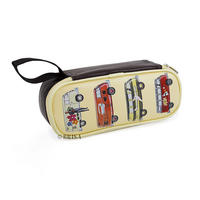 Retro Buses VW Camper Van Cosmetic/Pencil Case