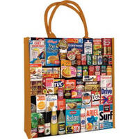 1970s Shopping Basket Reusable Shopping Bag