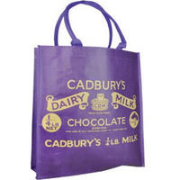 Cadbury's Dairy Milk Purple Wrapper Reusable Shopping Bag