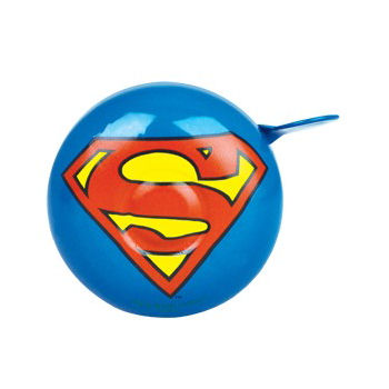 NEW SUPERMAN LOGO METAL BICYCLE BELL BIKE RETRO HANDLEBAR RING GIFT MAN OF STEEL