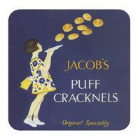 Jacob's Puff Cracknells Single Coaster