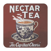 "Nectar Tea ""The Cup That Cheers"" Single Coaster"