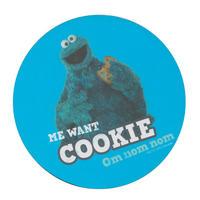 """Cookie Monster """"Om Nom Nom"""" Single Coaster"""