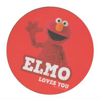 Elmo Loves You Single Coaster